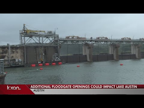 Lake Austin homeowners told to prepare as LCRA to open record number of floodgates