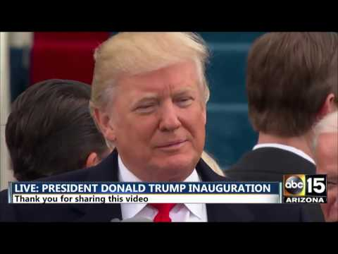 Download Youtube: FULL: President Donald Trump Inauguration Address Speech - We will be protected by God