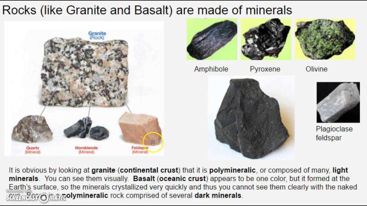 How minerals form - YouTube