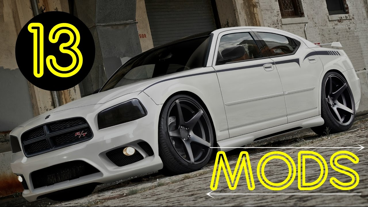 Dodge Charger 13 Popular Mods How To Make Your Car Awesome Part