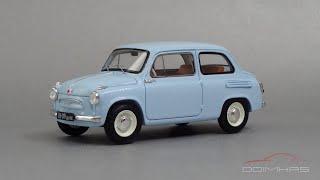 ЗАЗ-965 «Запорожец» 1960    DiP Models    Масштабные модели автомобилей СССР 1:43