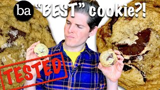 Cookie Taste Test & How to Make BA's Best Salty Chocolate Chunk Cookie: Bon Appétit  Test #12