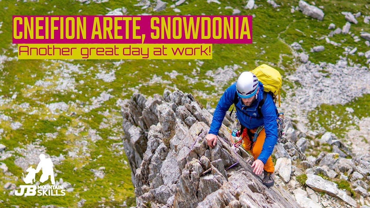 Cneifion Arete, Snowdonia: Advanced Scrambling