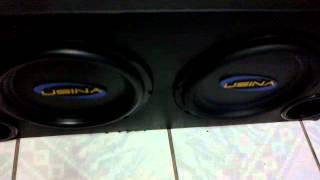 "Soundigital SD250.1 + 2 Usina 12"" 350Wrms [CETREL AUTO SOM]"