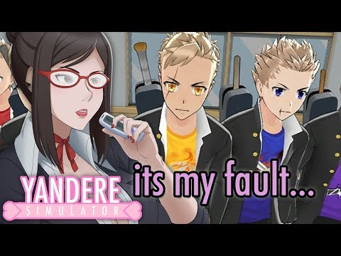 SHE CREATED THE DELINQUENTS?! | Yandere Simulator (Delinquent Backstory)