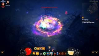 Diablo 3 PTR Torment 6 Act 1 - Backlash monk - epilepsy generator combination