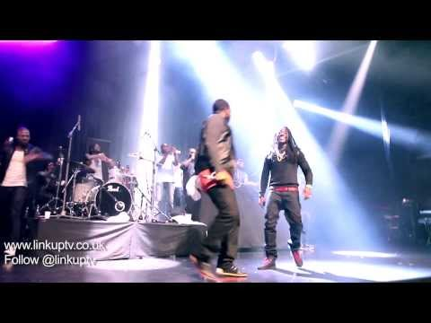 Ace Hood performs Bugatti Live in London,...