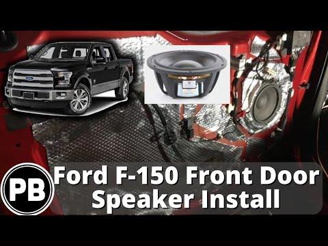 2015 - 2017 ford f150 front door speaker install