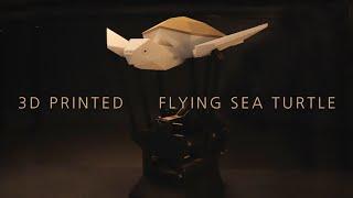 3D프린터로 뽑은 바다거북의 비행 (3D Printed…
