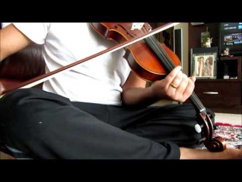 Ayayayo Aanandhamae -From  Kumki on Violin by Upendra Dusa