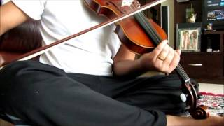 Ayayayo Aanandhamae -From  Kumki on Violin by Upendra Dusa