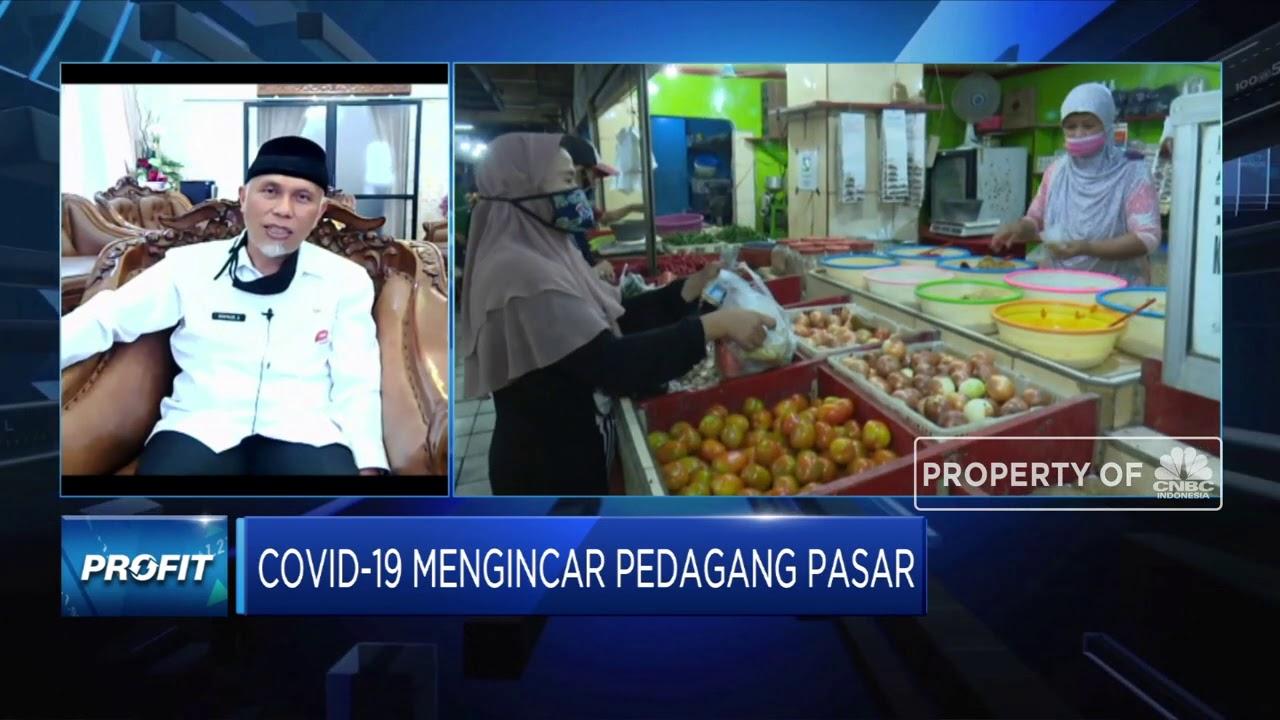 113 Pedagang Pasar Positif Corona, Walkot Padang Jelaskan Sebabnya