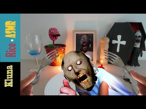Kluna Tik Eating GRANNY CHAPTER TWO !!! Kluna Tik Style Dinner #66 | ASMR Eating Sounds No Talk