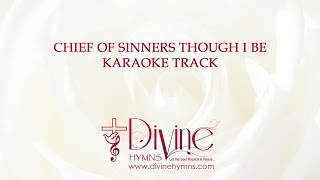 Chief of Sinners Karaoke Track With Lyrics Video