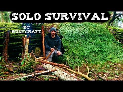 Solo Survival Vancouver Island Wilderness