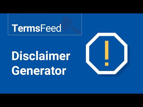 disclaimer-generator
