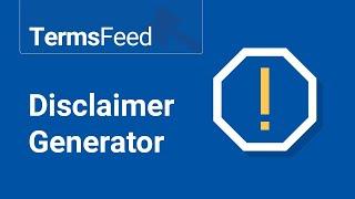Disclaimer Generator