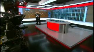 BBC News goes live from New Broadcasting House