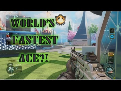 Black Ops 3- Worlds Fastest SnD 6 Man Ace?!