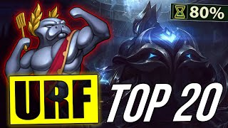 Top 20 Best Champions URF | LoL Epic ARURF montage 2018 (League of Legends)