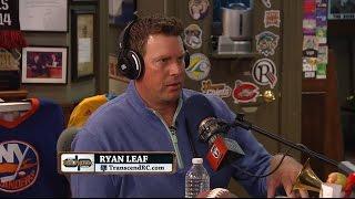 Ryan Leaf on hitting rock bottom