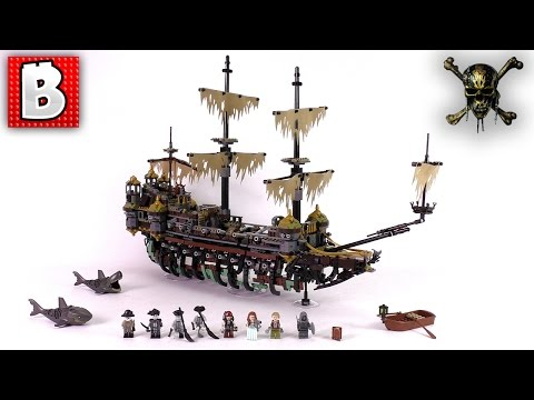 LEGO Silent Mary POTC Set 71042   Unbox Build Time Lapse Review