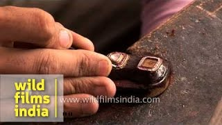 Art of gemstone engraving in India