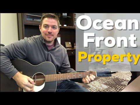 Ocean Front Property   George Strait   Beginner Guitar Lesson