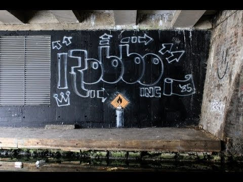 "Robbo Vs Banksy ""Graffiti Wars"" Full Length Video"