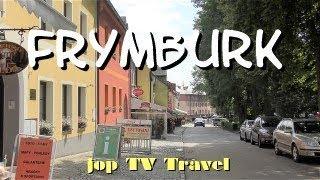 Rundgang durch die Stadt Frymburk nad Vltavou in 5 Minuten Südböhmen Tschechien jop TV Travel