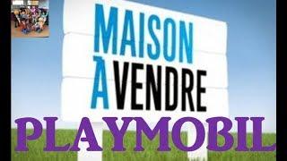 FILM PLAYMOBIL N°28 : MAISON A VENDRE version PLAYMOBIL - 100% PLAYMO