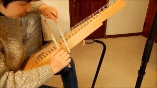 プサルタリーってこんな楽器です。。