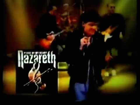 """NAZARETH  """"Piece Of My Heart """" Clip"""