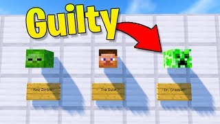 Only 1% of Players Can STOP this Crime! (Minecraft Custom Map!)