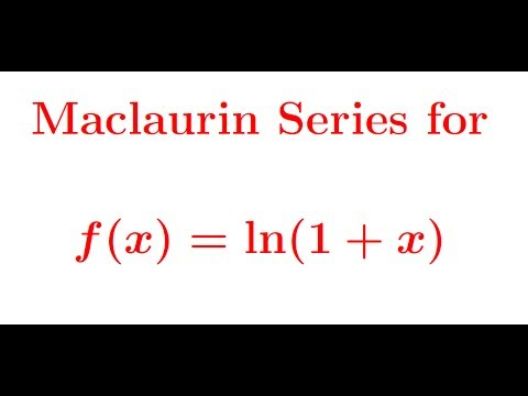 Maclaurin Series For Ln1x Youtube