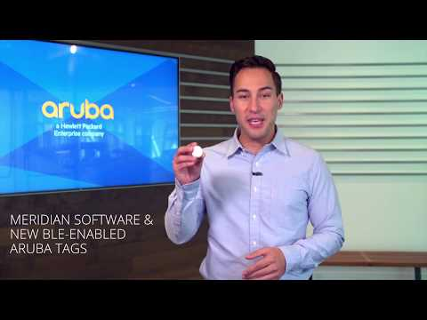 Aruba Asset Tracking extends capabilities of Meridian Location Services