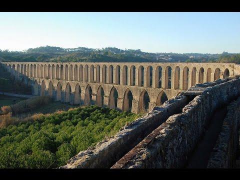 Aqueduto dos Pegões | 4k Vídeo Aéreo | Descobrindo Portugal Norte a Sul