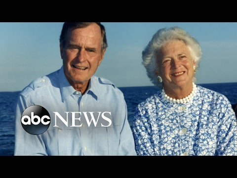 George H. W. and Barbara Bush Hospitalized
