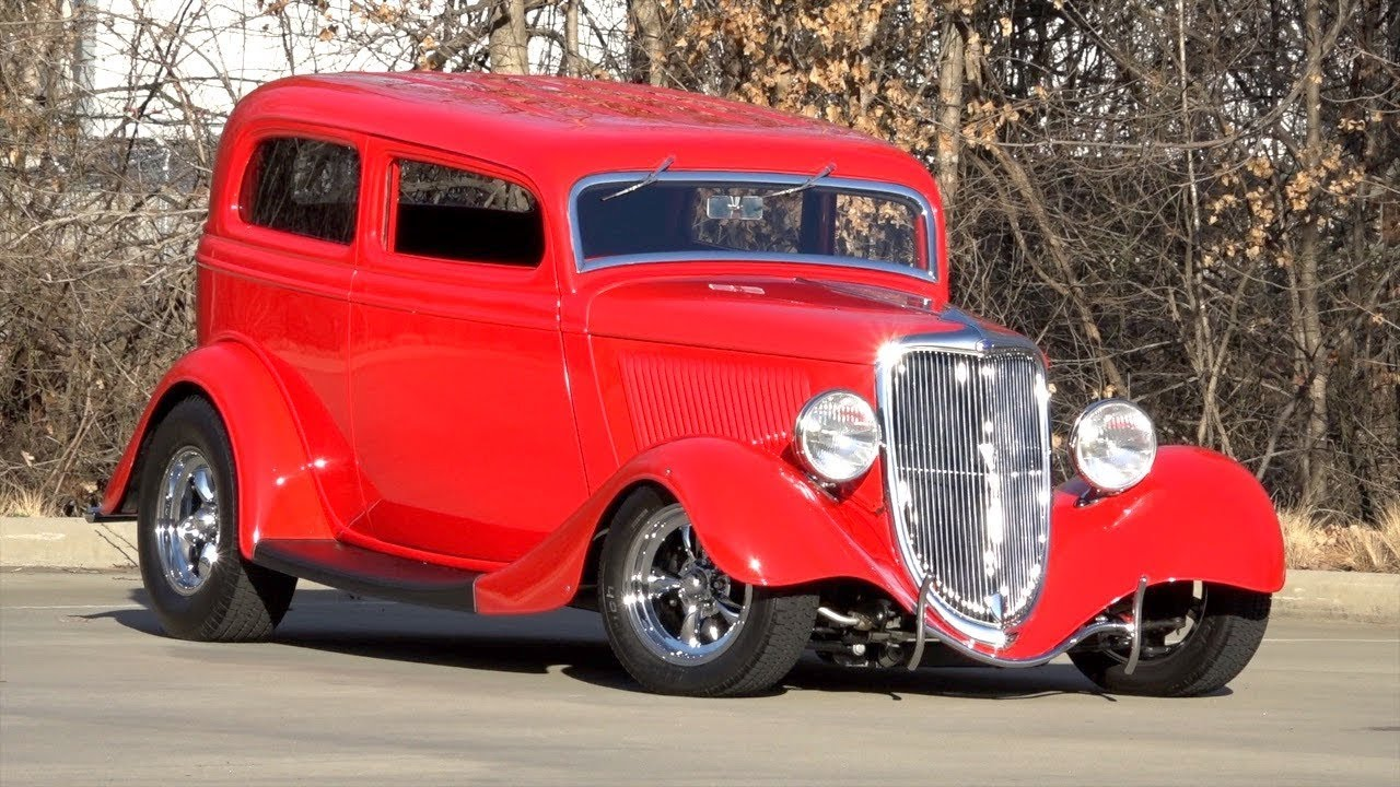 1934 Ford Tudor SOLD / 136047