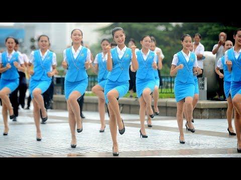 Jinan city, Shandong province, China/山东济南:踩踩踩「快闪」︱