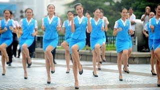 山东济南踩踩踩「快闪」Jinan city, Shandong province, China