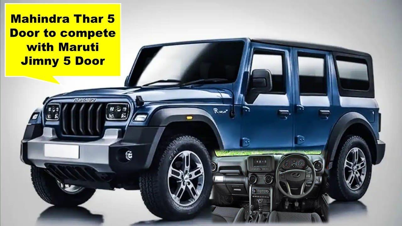 Mahindra Thar 5 Door to compete with Maruti Jimny 5 Door | Uandi Automobiles