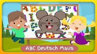 ABC Deutsch Maus - Deutsch lernen und das Alphabet üben für Kinder und Erwachsene mit Geschichte
