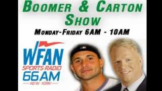"""#DaveForCave Visits """"Boomer and Carton"""" on WFAN 660AM and 101.9 FM"""