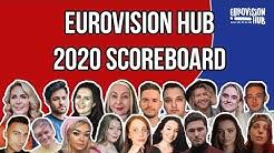 Eurovision Hub ESC 2020 Scoreboard