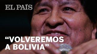 EVO Morales asegura que