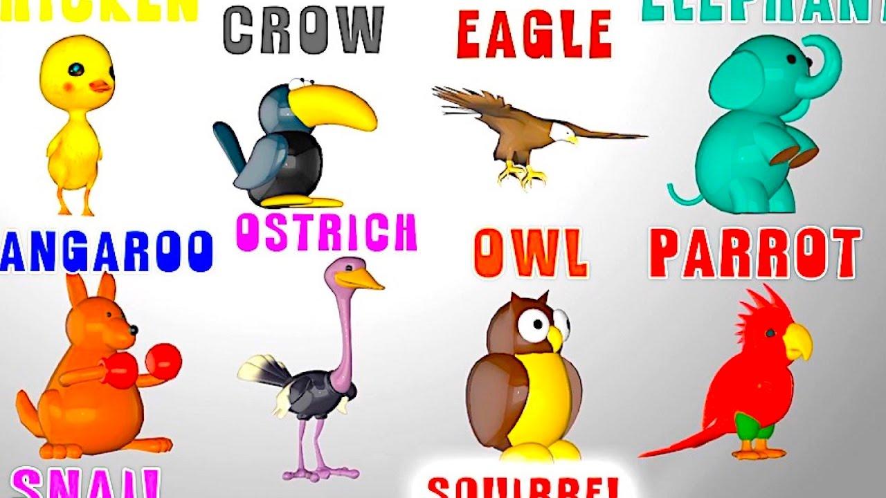 Мультик про цвета на английском для детей