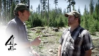 Bigfoot Files | Bigfoot Encounters - Justin's Kill Site | Channel 4