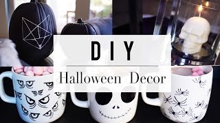3 Halloween DIY You Need To Try | Home Decor | ANN LE