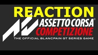 Assetto Corsa Competizione E3 2018 Trailer (Reaction/Breakdown)